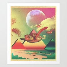 From the Sea to the Sky  Art Print