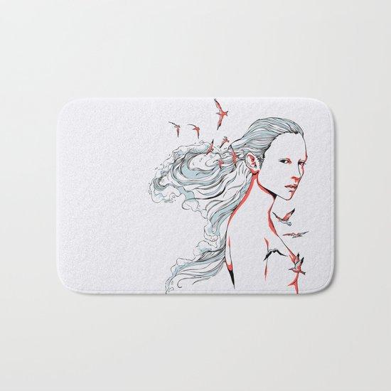 Queen of Ocean Bath Mat