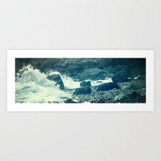The Sea I. Art Print