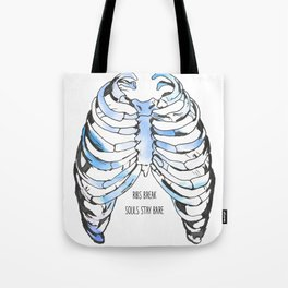 ribcage Tote Bag