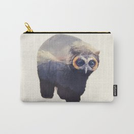 Owlbear in Mountains Carry-All Pouch