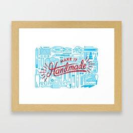 Make Handmade - 2 Color Framed Art Print
