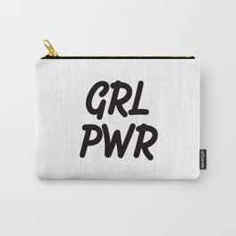 GRL PWR - Girl Power Carry-All Pouch