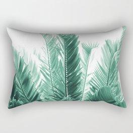 Tropical Leaves Dream #5 #tropical #decor #art #society6 Rectangular Pillow