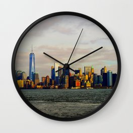 Manhattan New York Wall Clock