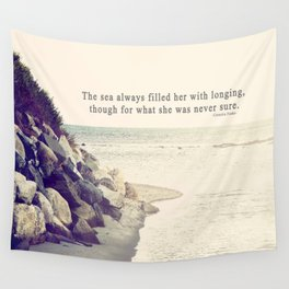 Filled with Longing Wall Tapestry