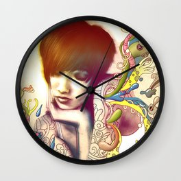 Inspiration Evaporation Wall Clock