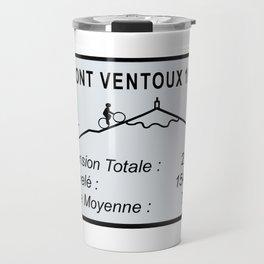 Mont Ventoux Sign Travel Mug
