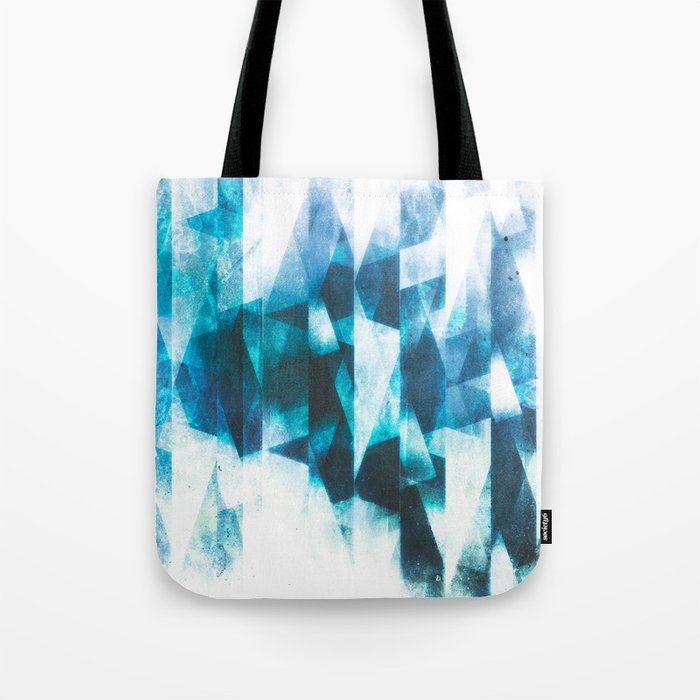 Icy icebergs Tote Bag