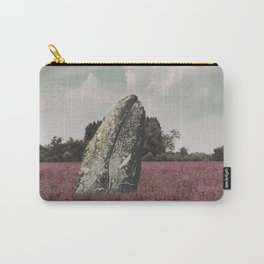 wild whale wood flower Carry-All Pouch