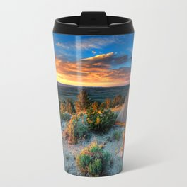The Benefits of Camping Landscape Travel Mug