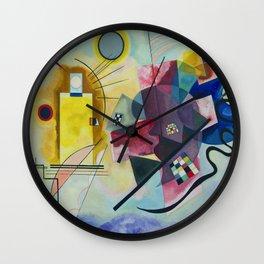 Wassily Kandinsky Geometric Composition Wall Clock
