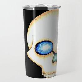 Galaxy Skull Travel Mug