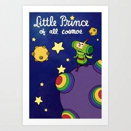Little Prince of All Cosmos Art Print