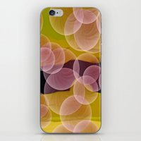bubbles iPhone & iPod Skins featuring Bubbles by lillianhibiscus