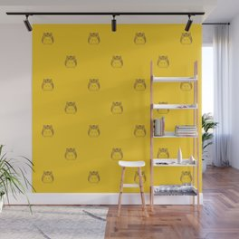Cute Colorful Hamster Pattern Illustration Wall Mural