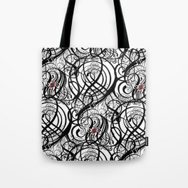 Calligraphy Pattern Tote Bag