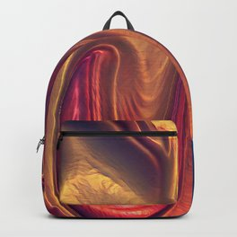 Red Abstract 4 Backpack