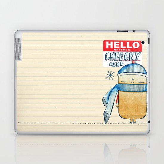 Cheeky Bird Laptop & iPad Skin