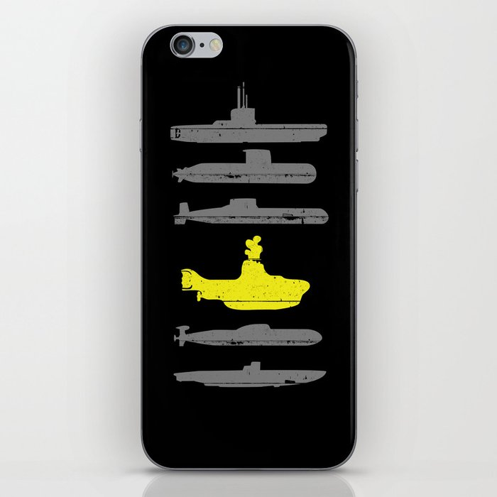 Know Your Submarines iPhone Skin