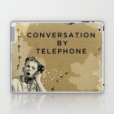 Conversation by Telephone Laptop & iPad Skin