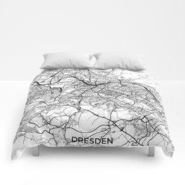Dresden Map Gray Comforters