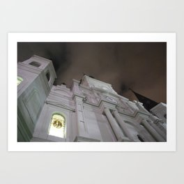 Cathedral at Midnight Art Print