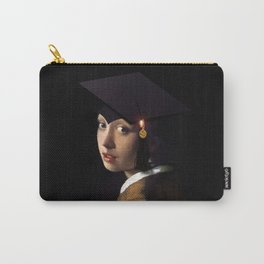 Girl with the Grad Cap Carry-All Pouch