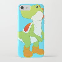 yoshi iPhone & iPod Cases featuring Yoshi by bloozen