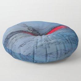 Wilderness Kayaker Floor Pillow