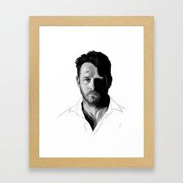 Ian Framed Art Print