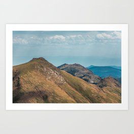 Pikes Peak Mountain Landscape Art Print