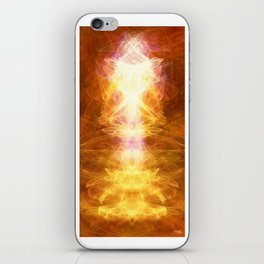 *TAP INTO UNIVERSAL ENERGY *reposting for Greeting Card addition iPhone Skin