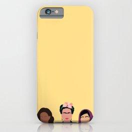 Feminist Squad Yellow iPhone Case