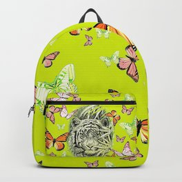 Tiger and Butterflies Backpack