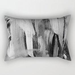 Abstract Painting in Noir Rectangular Pillow
