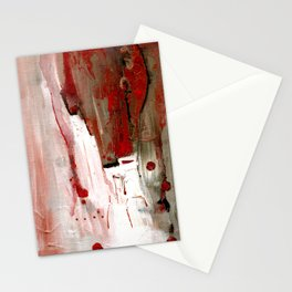 Abstract Horse Stationery Cards