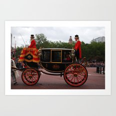 The Royal Carriage 5 Art Print