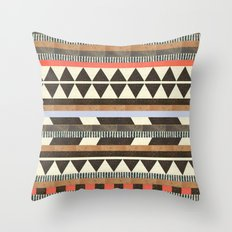 DG Aztec No.1 Throw Pillow