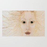 venus Area & Throw Rugs featuring Venus by Jill Farrer