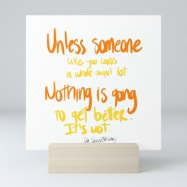 Dr. Seuss Mini Art Print