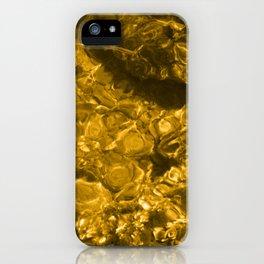 Shallows gold tint iPhone Case