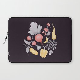 Vegetables (dark) Laptop Sleeve