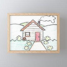 House Framed Mini Art Print