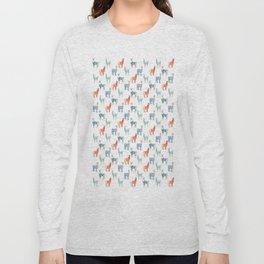 Llamas with Jumpers Long Sleeve T-shirt