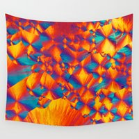 acid Wall Tapestries featuring Citric acid by SammyPhoto