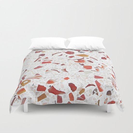 Terrazzo Multicolor Duvet Cover
