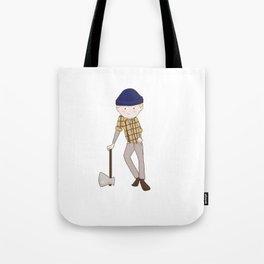 Young Paul Bunyan Tote Bag
