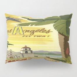 Vintage poster - Los Angeles Pillow Sham