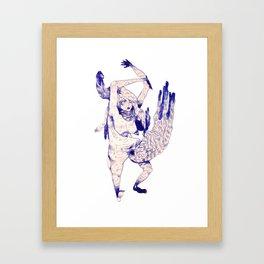 aozora Framed Art Print